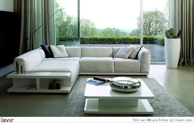 sala con muebles elegantes