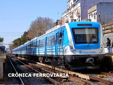 Cr nica ferroviaria l nea sarmiento agregan tres for Ministerio del interior y transporte de la nacion