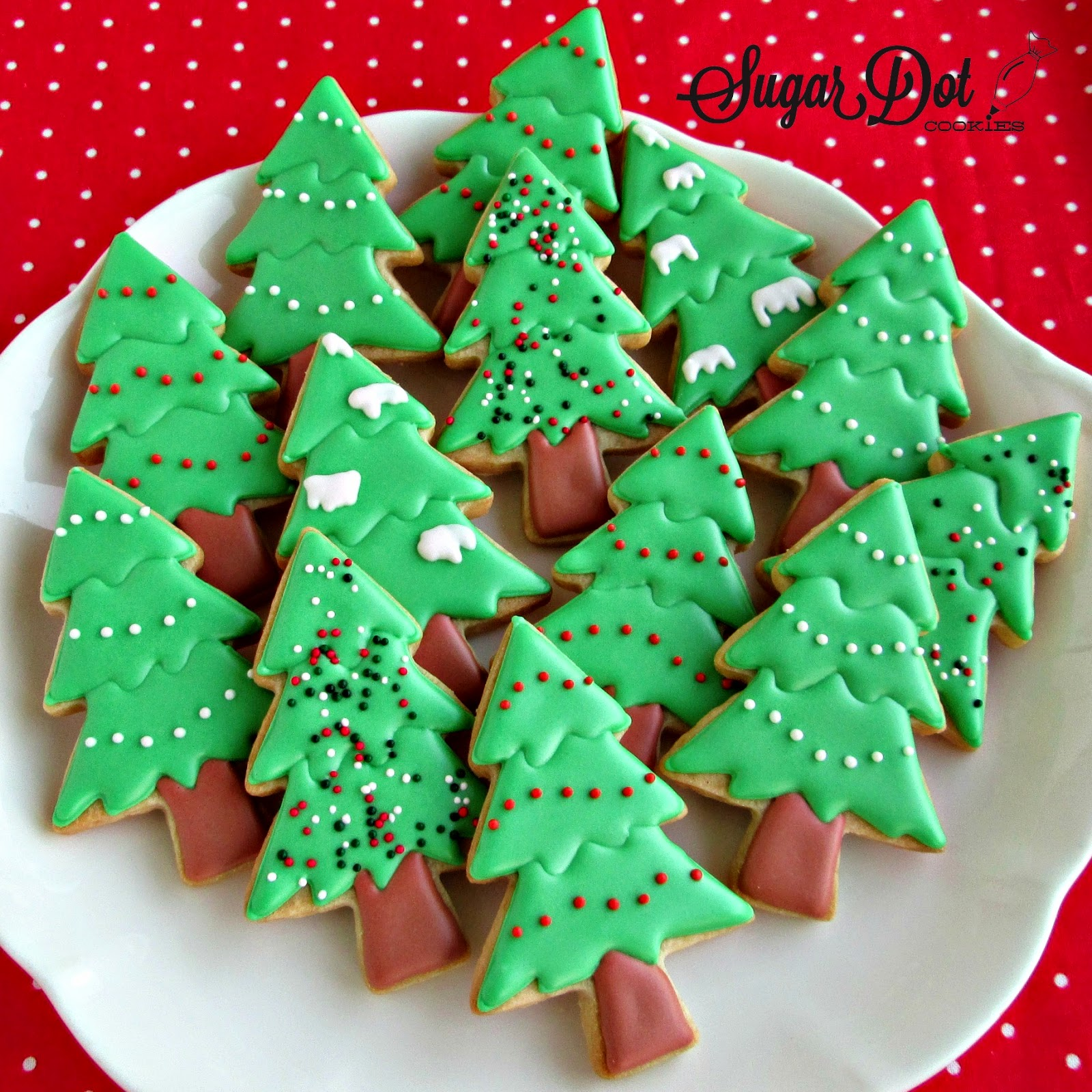 Decorated Holiday Sugar Cookies Recipes — Dishmaps