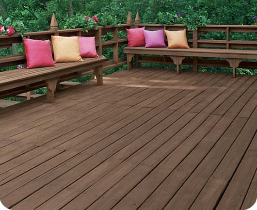 Staining Made Simple With Flood Com Better Backyard