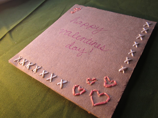 Greeting card christmas card ideas diy embroidered