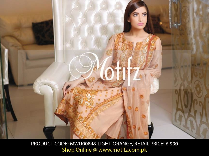 Motifz Spring Summer Crinkle Chiffon Dress