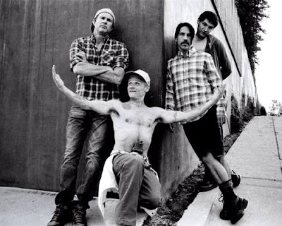 chad smith, flea, anthony kiedis e josh klinghoffer