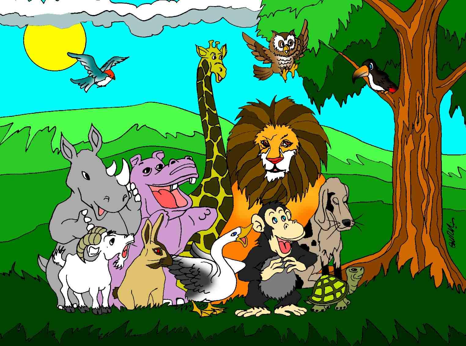 festa jardim zoologico:Los Animales De La Biblia