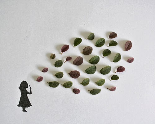 01-Little-Girl-with-Bubbles-Freelance-Illustrator-Tang-Chiew-Ling-Art-with-Leaves-www-designstack-co