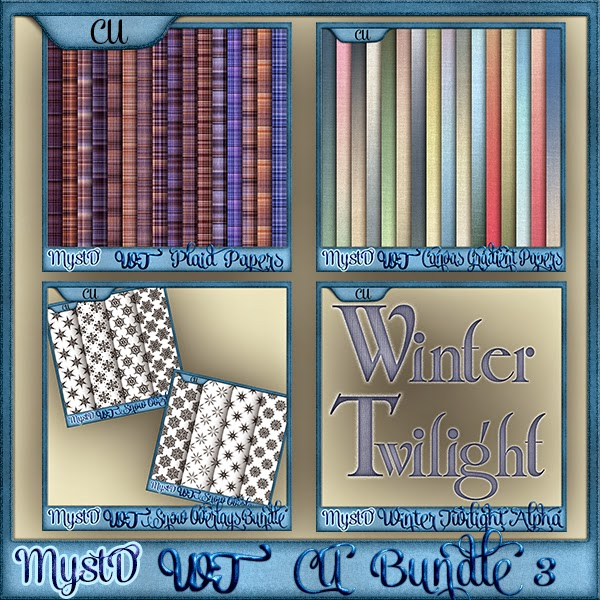 Winter Twilight CU Bundle 3