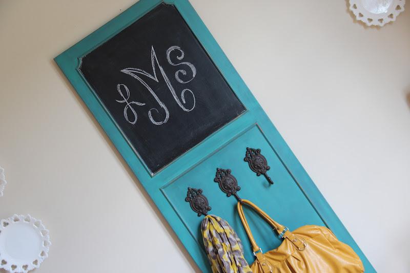 Funky Junk: Command Central - Chalkboard & Door Hanger