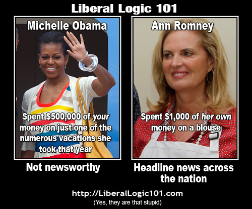 Pictures, jokes, and other stuff: Liberal Logic 101