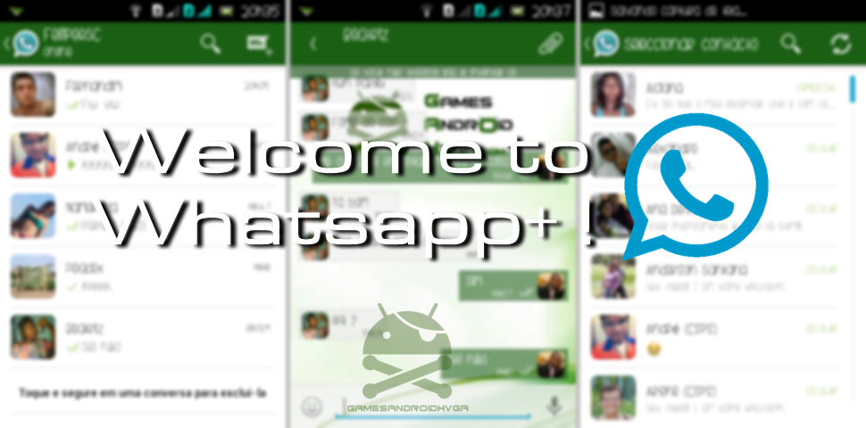 WhatsApp+ (Plus) Apk v5.45 Cracked Full [Sem Root]