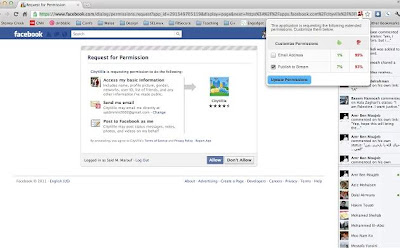 Facebook+google+chrome+extensions