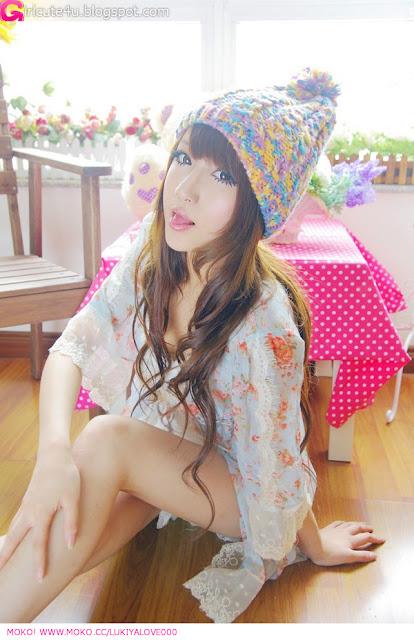 6 Lace girl - LuKiYa-very cute asian girl-girlcute4u.blogspot.com