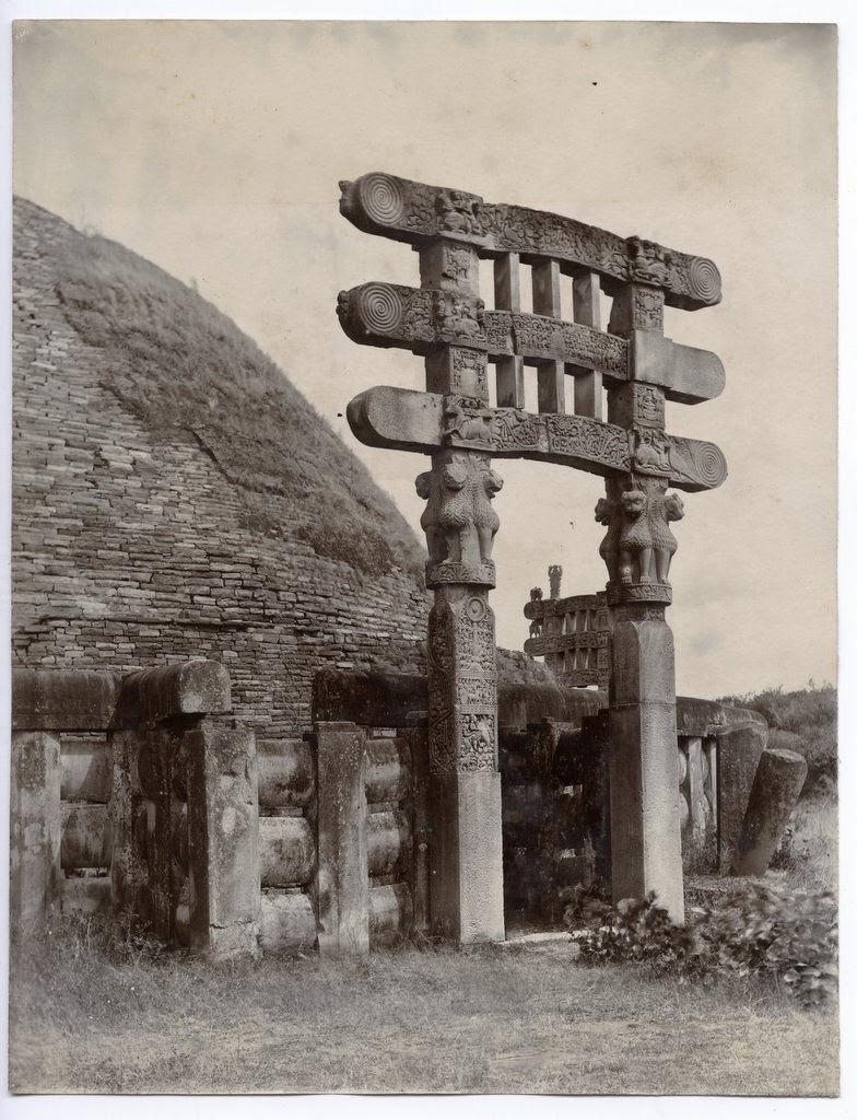 Sanchi Stupa front gate