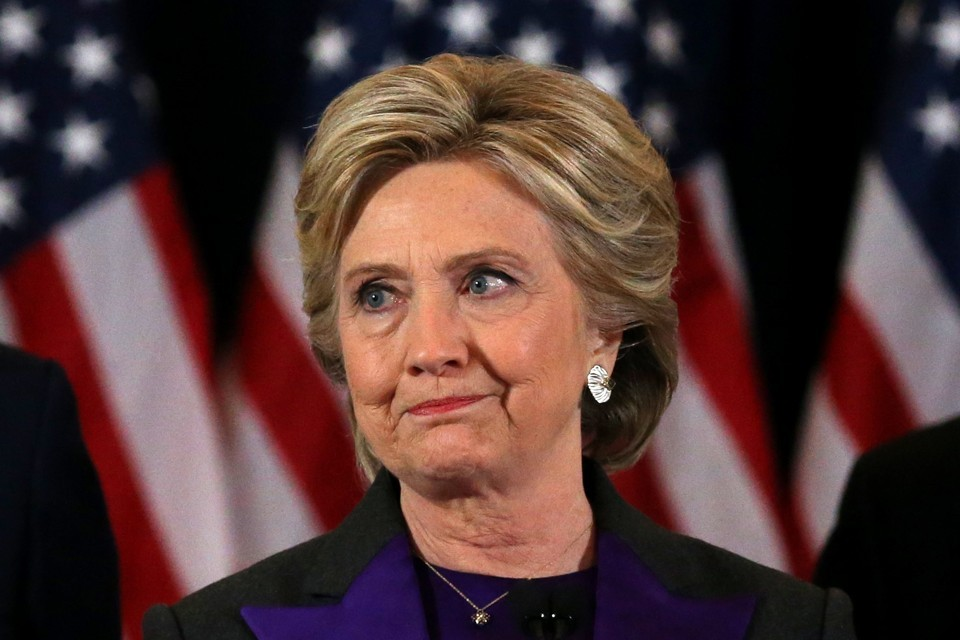 HILLARY CLINTON: AN AMERICAN REJECT IN DENIAL.