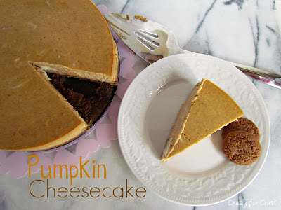 Halloween recipe: Pumpkin cheesecake