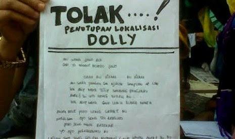 Tolak Penutupan Dolly, PSK Surati SBY