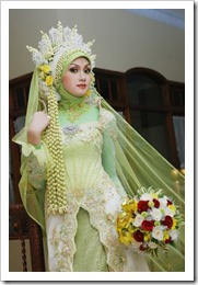 pengantin muslimah thumb Kumpulan Busana Pengantin Muslimah Terbaru
