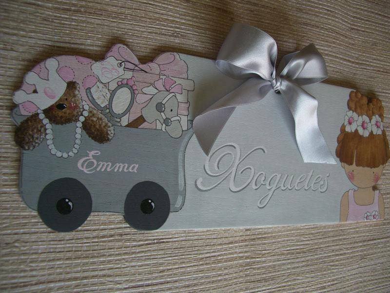 Chata chata decoraci n infantil placas para cajas for Placas decoracion pared