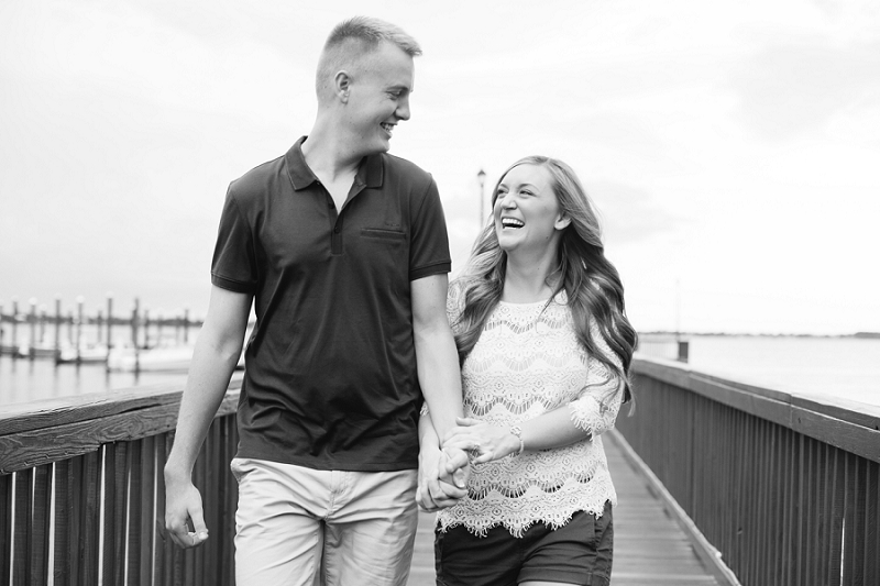 downtown stuart engagement photos