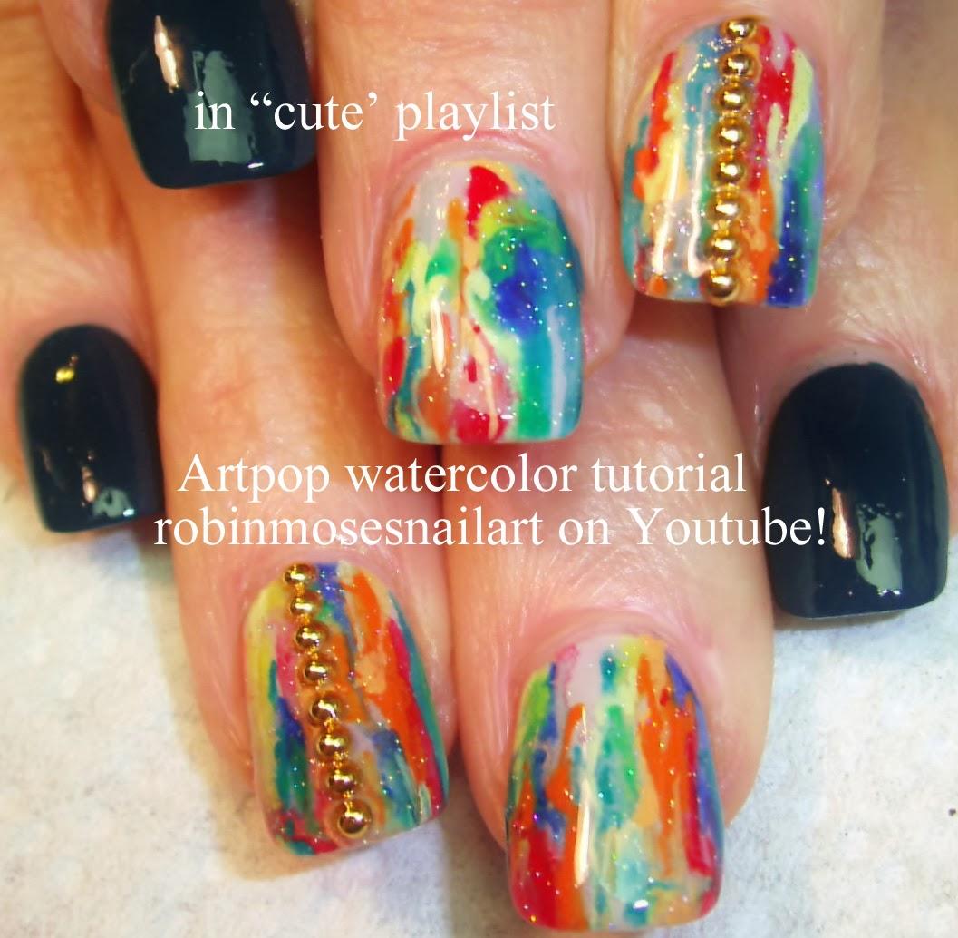 Kitsch art nail or cute video