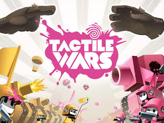 Screenshots of the Tactile wars for Android tablet, phone.