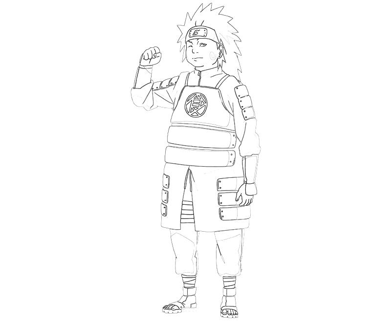printable-naruto-chiyo-strong-coloring-pages