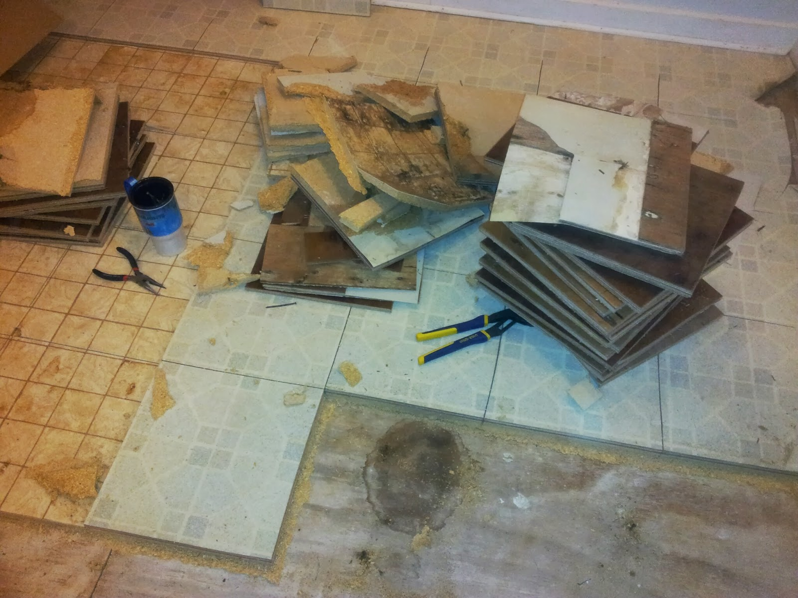 how to clean really dirty linoleum floors