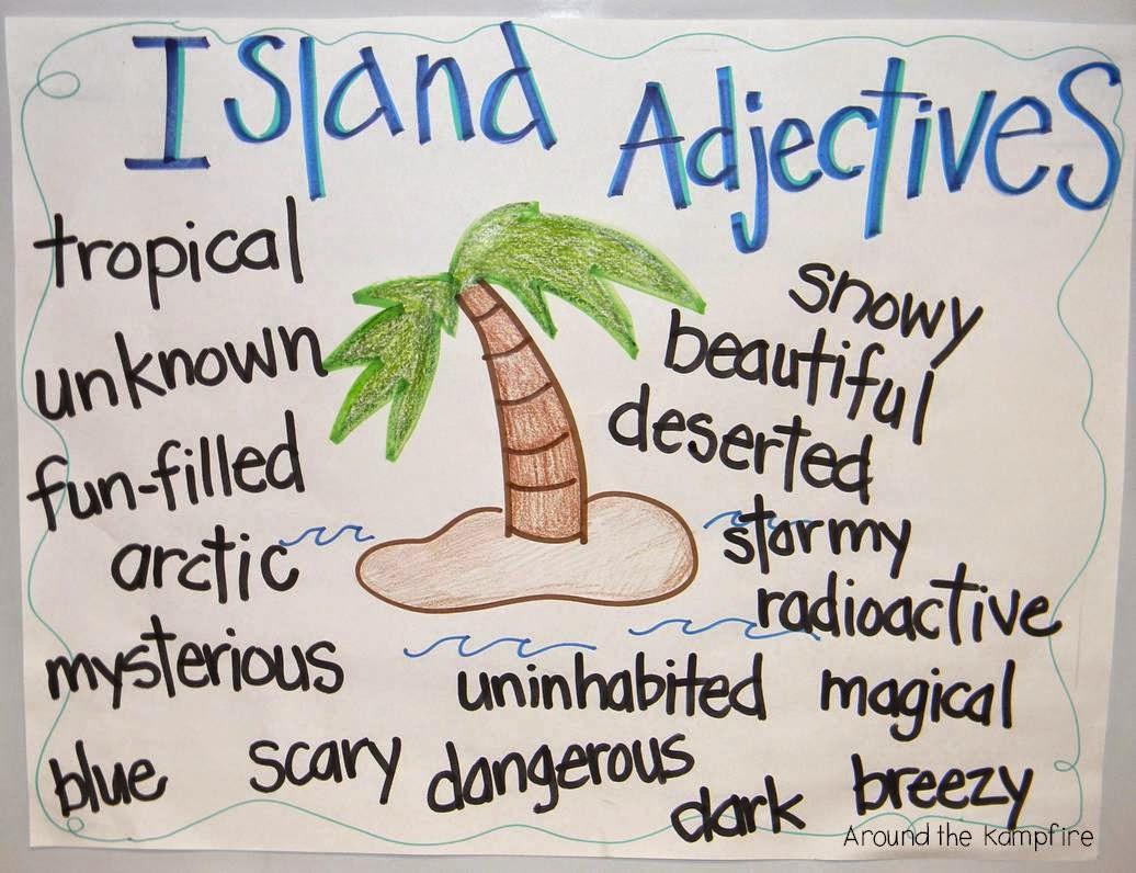 Creative writing adjectives