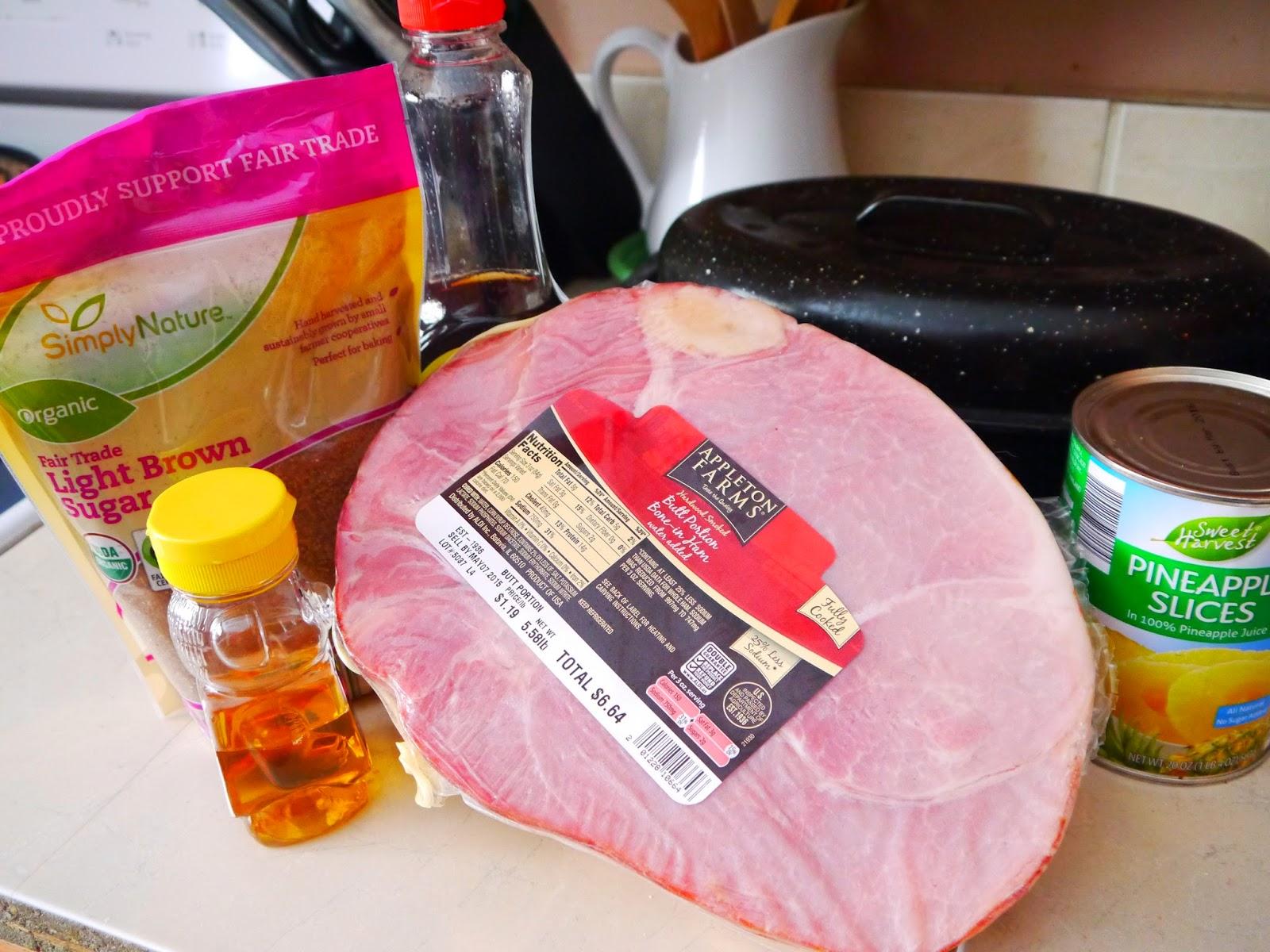 Brown Sugar Cured Ham Recipe