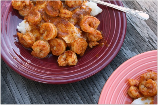 Pasilla Garlic Shrimp