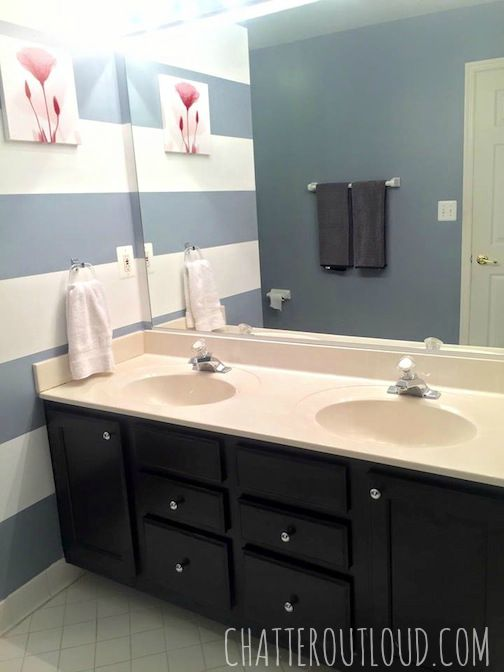 Chatter Out Loud Bathroom Makeover My DIY - Makeover my bathroom