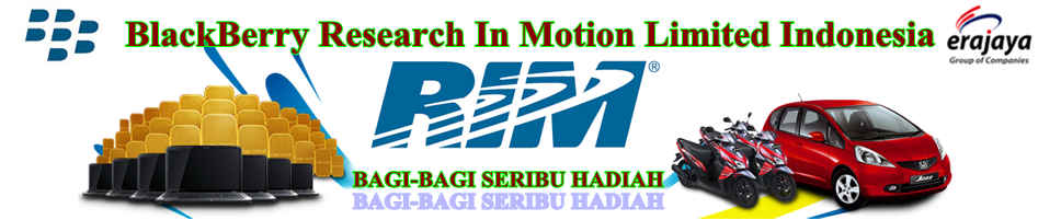 BlackBerry - Research In Motion Limited Indonesia