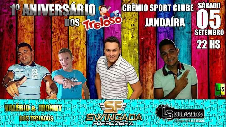 Jandaíra: Vem ai o 1º Ano dos Trelosos no Grêmio Sport Clube.