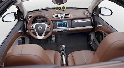 Smart ForTwo BoConcept Signature Style Cabrio (2013) Interior