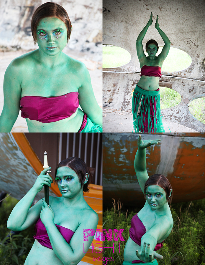 Fun images of Carrie as the orion slave girl inspiration from star trek TOS