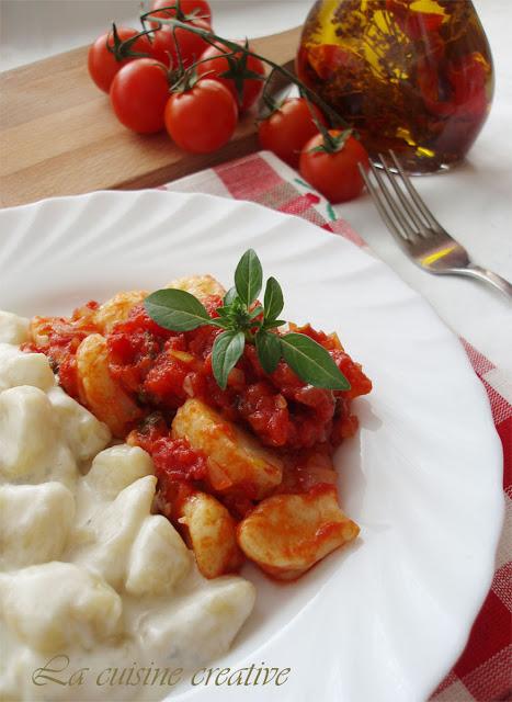 Domace njoke u umaku od paradajza i gorgonzole