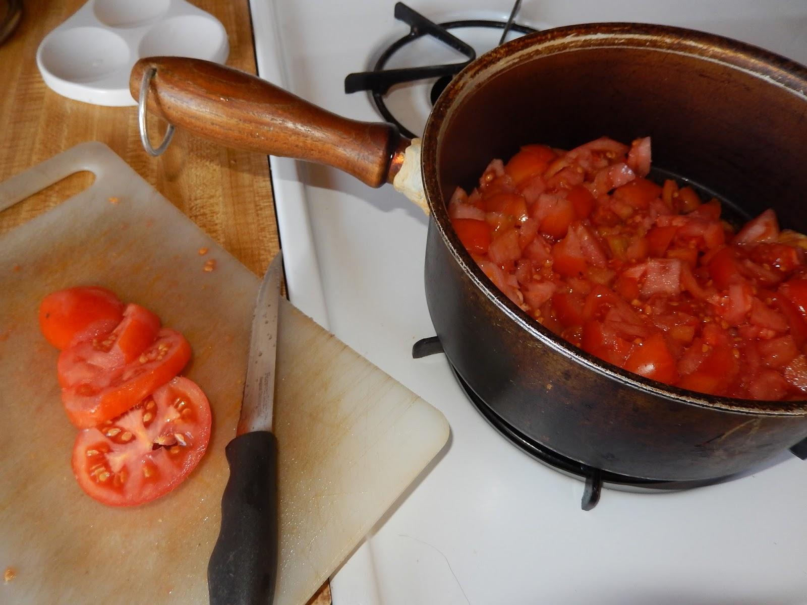 ... Lutz's Blog - Simple Freezer Tomato Sauce - October 08, 2015 09:30