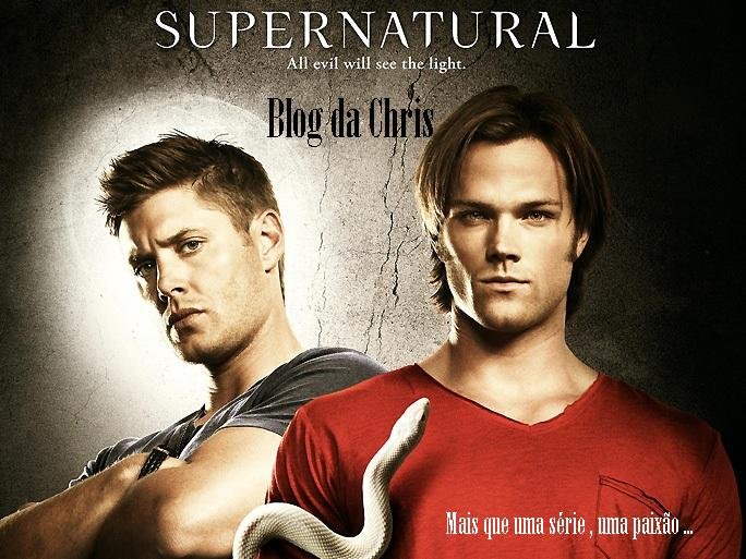 Blog da Chris - Supernatural -Saving people, hunting things the family business'~