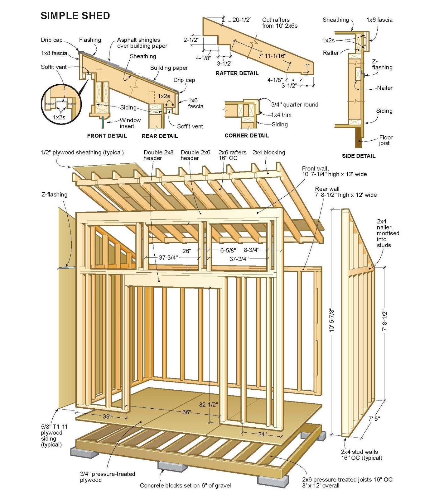 My Shed Plans : Solution For You Who Want To Build Your Own Shed