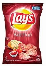 Ketchup Chips