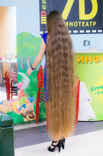Pictures of long hair contest, floor length hair