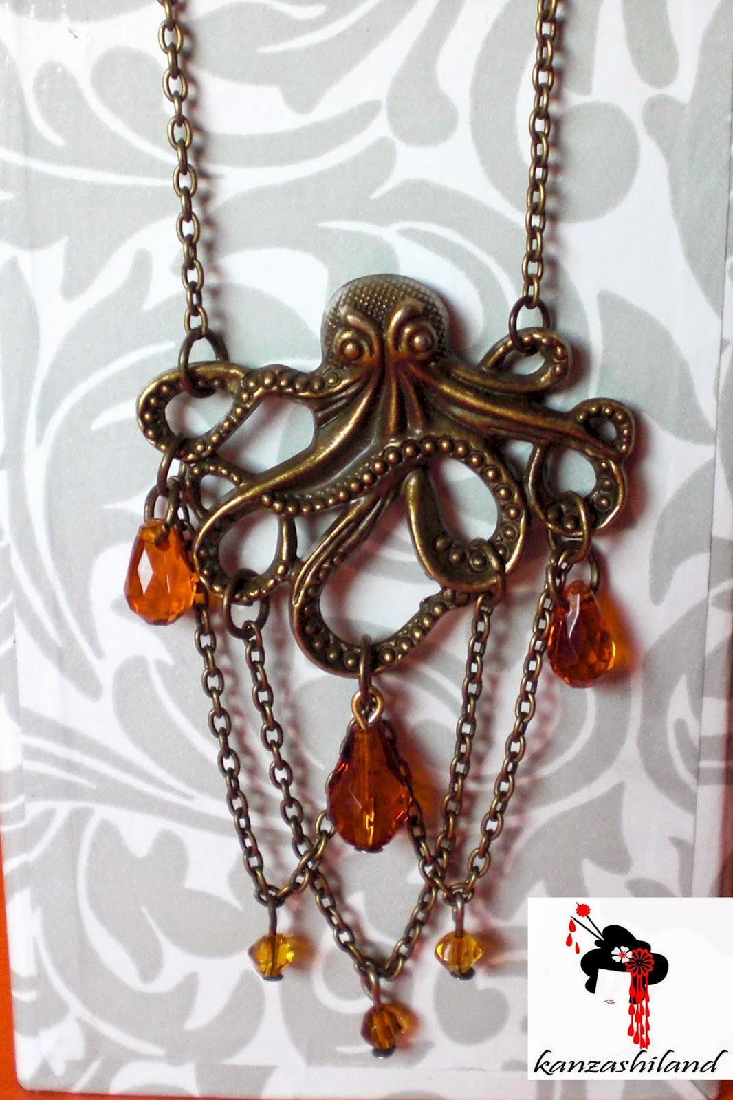 Chutlhu pendant by kanzashiland