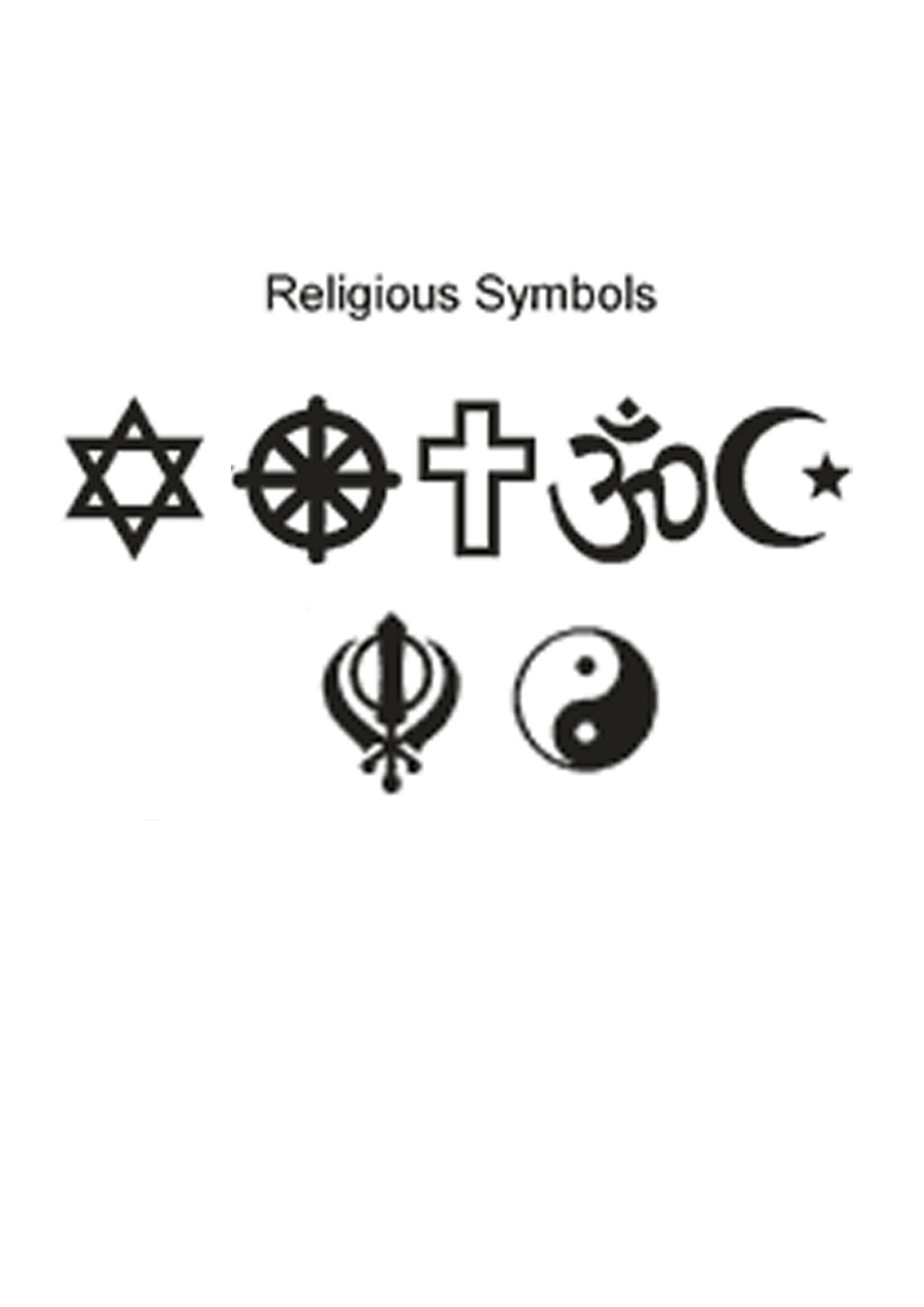 Globalisation research blog april 2012 now name these 7 religious symbols buycottarizona