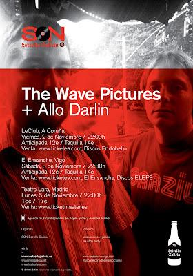 The Wave Pictures A Coruña Gira España 2012