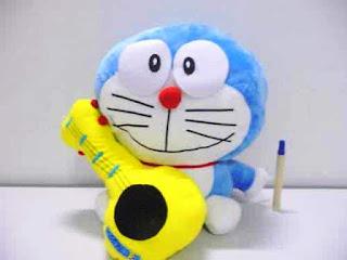 Gambar boneka lucu doraemon