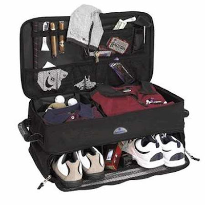 Samsonite Golf Trunk Organizer for sports travel trunk help maintain your touring golf gear trimly