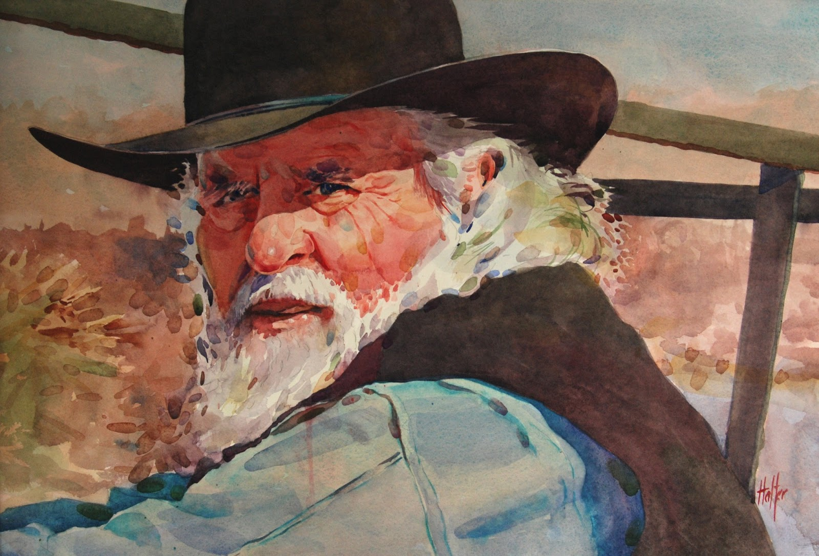 Watercolor art society houston tx - 14 X 22 Watercolor By Michael Holter
