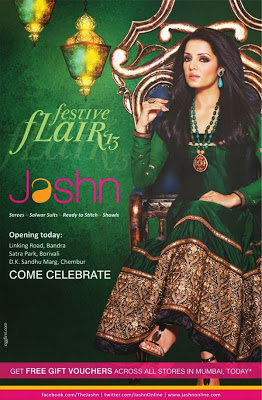 Celina Jaitly's Latest Photoshoot in Indian Wear