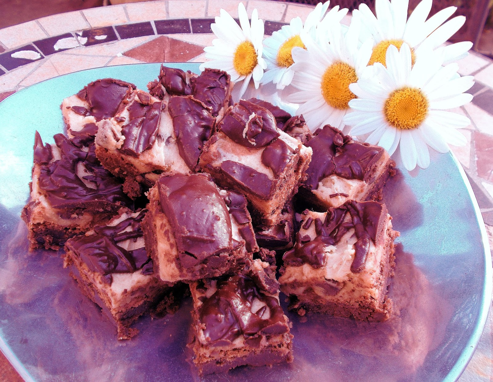 cookie dough brownies one recipe plain chocolate brownies see below ...