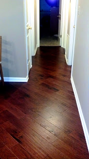 handscraped hickory wide plank hardwood engineered floor
