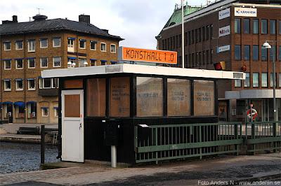 konsthall, 1.0, jönköping, huskvarna, kur, slussvakt, kanalvakt, brovakt, vaktkur, foto anders n